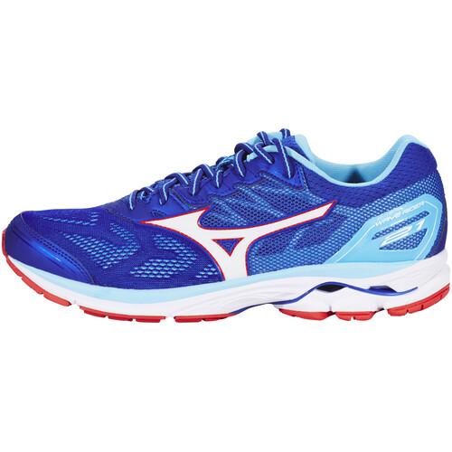 Mizuno Wave Rider 21 - Chaussures running Homme - bleu sur campz.fr ! designer 5776T2G